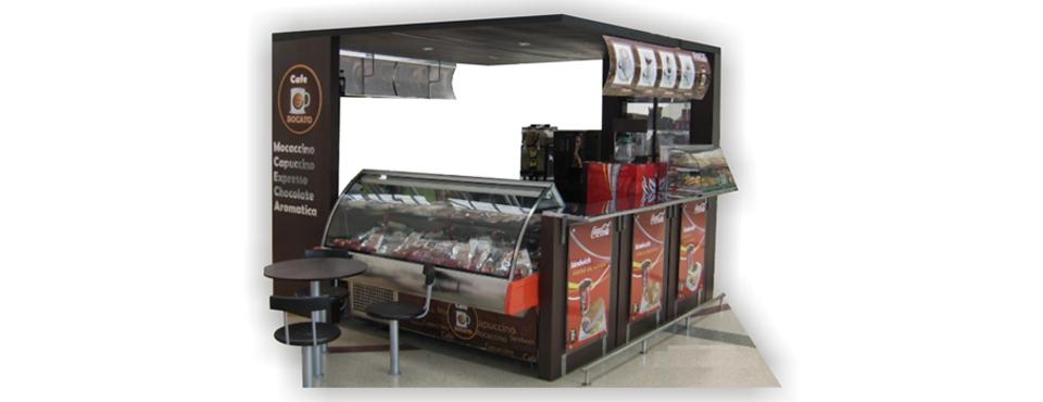 Punto de venta Centro Comercial CAFÉ BOCATO